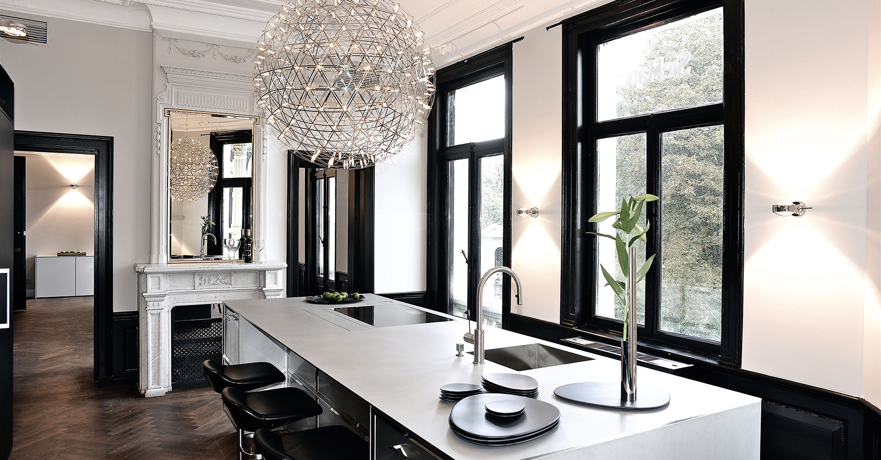 siematic by dross schaffer studio. Black Bedroom Furniture Sets. Home Design Ideas